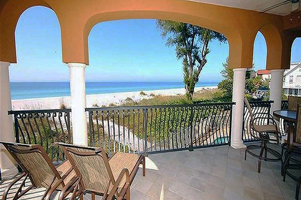 Florida Vacation Rental view of the Gulf of Mexico